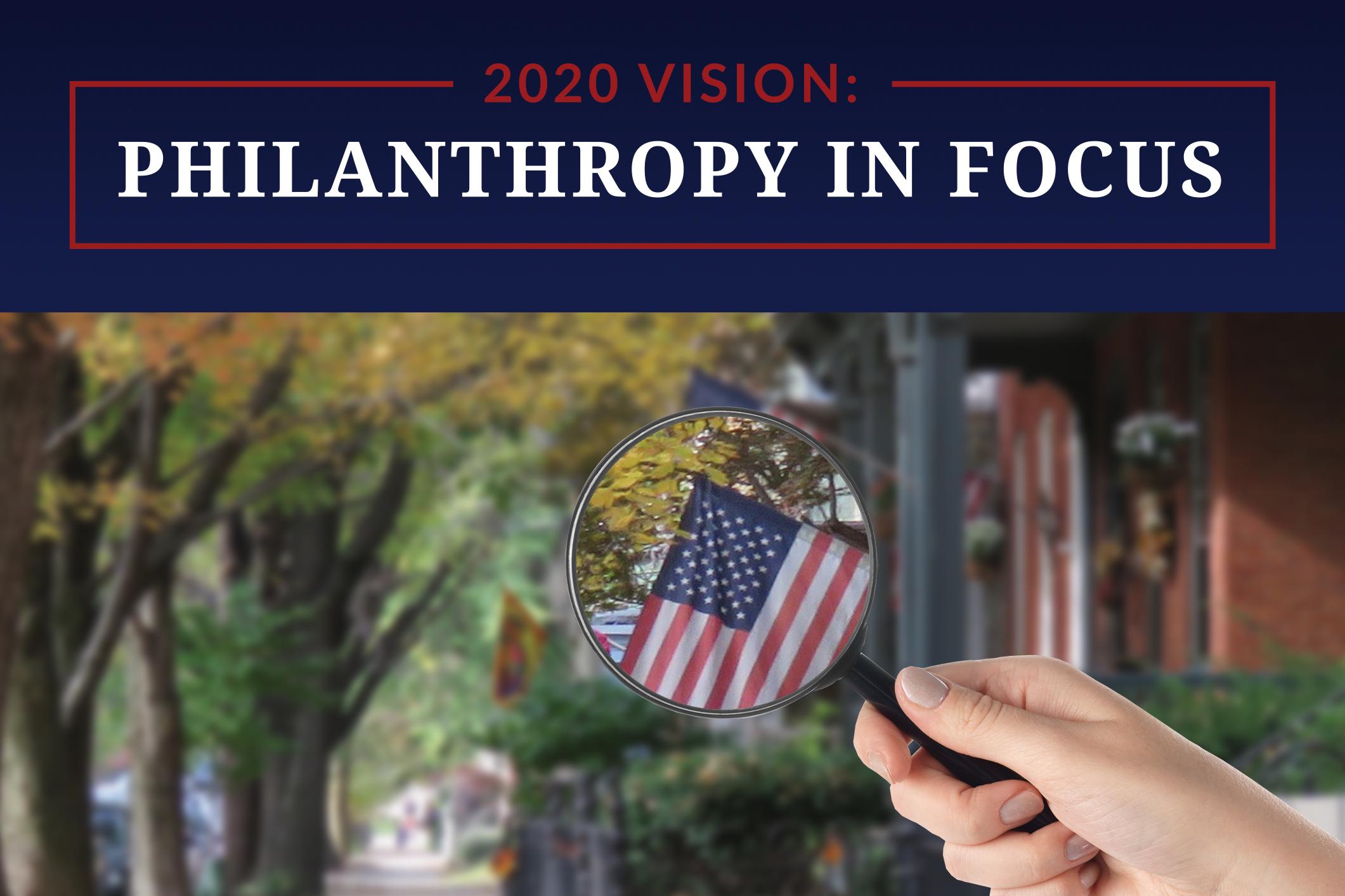 2020 Philanthropy in Focus